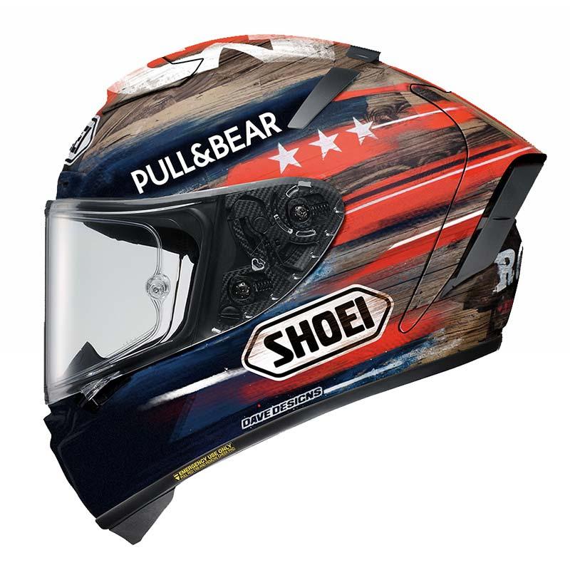 Shoei X-Spirit 3 Marquez America motorhelm