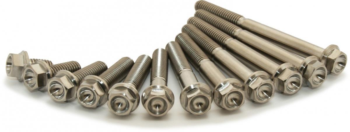 Motor bouten set (titanium) 250-350 EXCF-FE -19